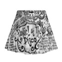 Panic! At The Disco Lyric Quotes Mini Flare Skirt View1