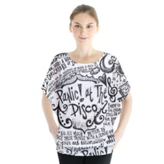 Panic! At The Disco Lyric Quotes Blouse