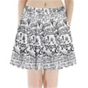 Panic! At The Disco Lyric Quotes Pleated Mini Skirt View1