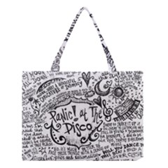 Panic! At The Disco Lyric Quotes Medium Tote Bag