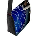 Panic! At The Disco Released Death Of A Bachelor Flap Messenger Bag (L)  View2