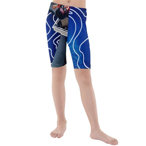 Panic! At The Disco Released Death Of A Bachelor Kids  Mid Length Swim Shorts