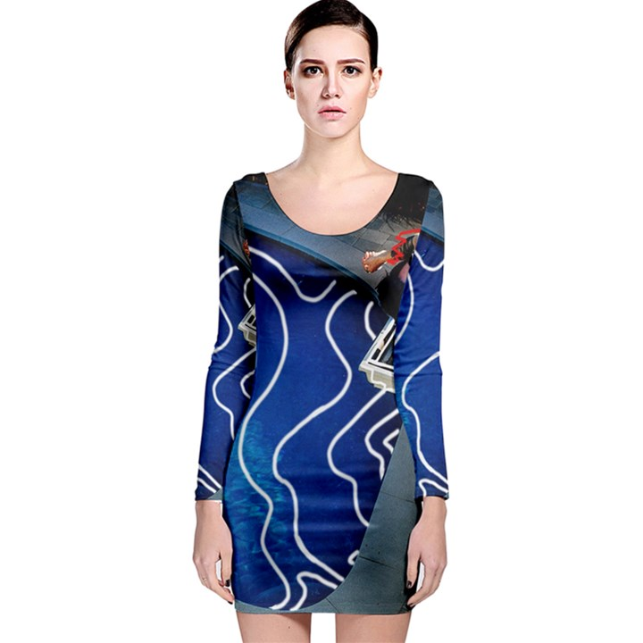 Panic! At The Disco Released Death Of A Bachelor Long Sleeve Bodycon Dress