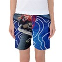 Panic! At The Disco Released Death Of A Bachelor Women s Basketball Shorts View1