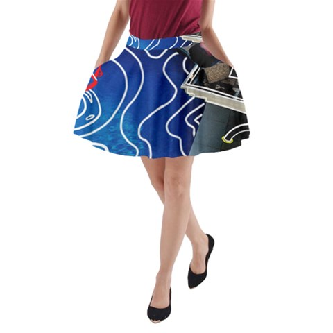 Panic! At The Disco Released Death Of A Bachelor A-Line Pocket Skirt