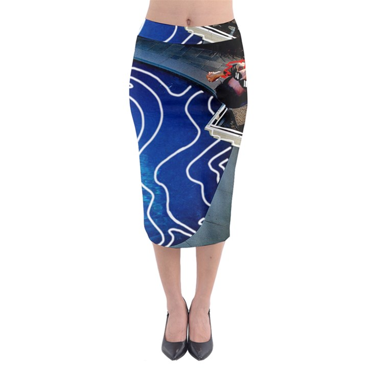 Panic! At The Disco Released Death Of A Bachelor Midi Pencil Skirt