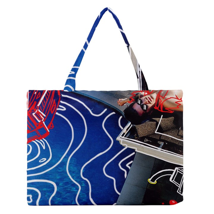 Panic! At The Disco Released Death Of A Bachelor Medium Zipper Tote Bag