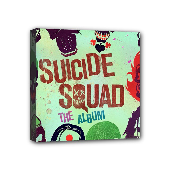 Panic! At The Disco Suicide Squad The Album Mini Canvas 4  x 4