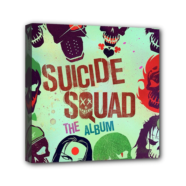 Panic! At The Disco Suicide Squad The Album Mini Canvas 6  x 6