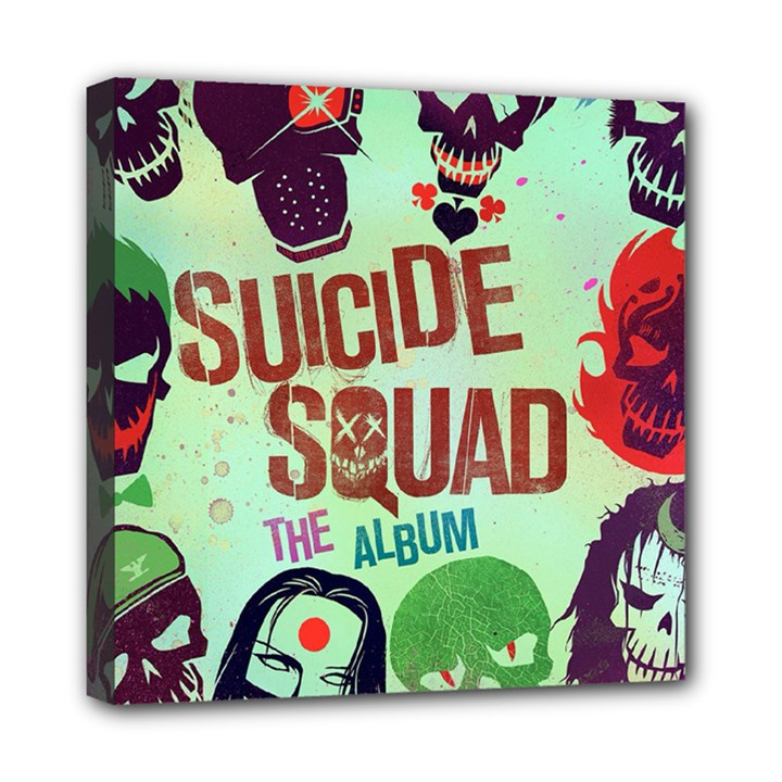 Panic! At The Disco Suicide Squad The Album Mini Canvas 8  x 8