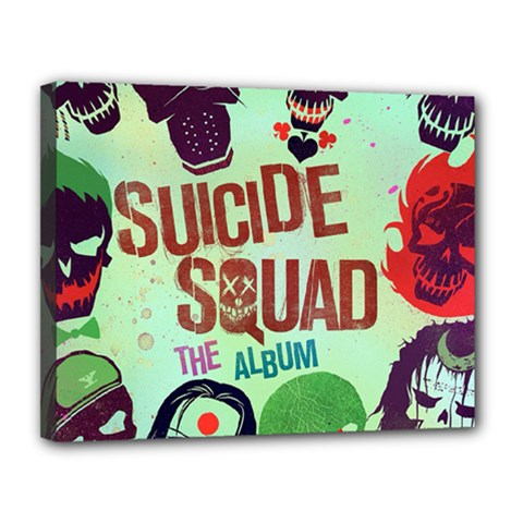 Panic! At The Disco Suicide Squad The Album Canvas 14  X 11