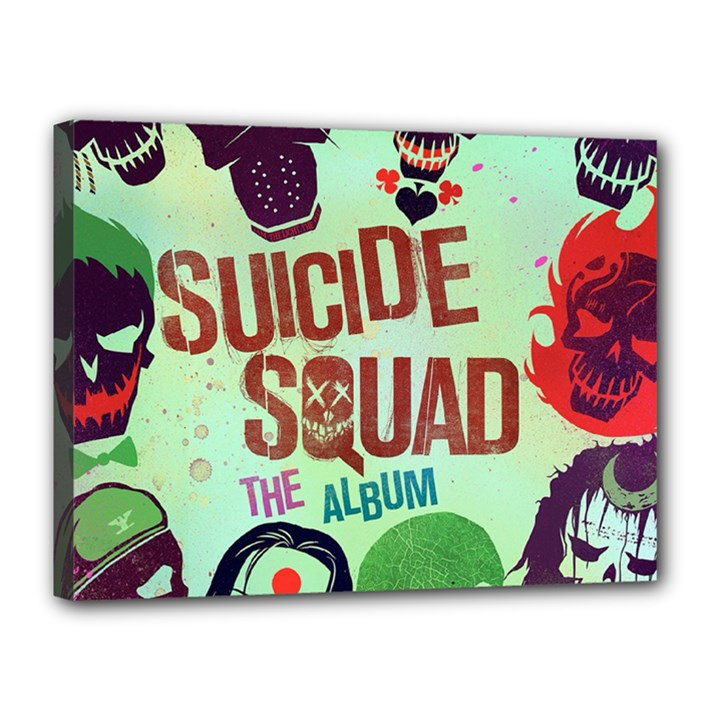 Panic! At The Disco Suicide Squad The Album Canvas 16  x 12