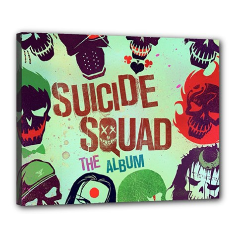 Panic! At The Disco Suicide Squad The Album Canvas 20  X 16