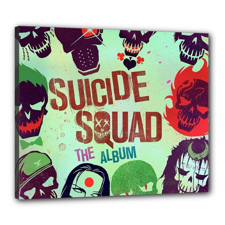 Panic! At The Disco Suicide Squad The Album Canvas 24  x 20