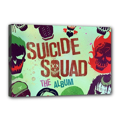 Panic! At The Disco Suicide Squad The Album Canvas 18  x 12