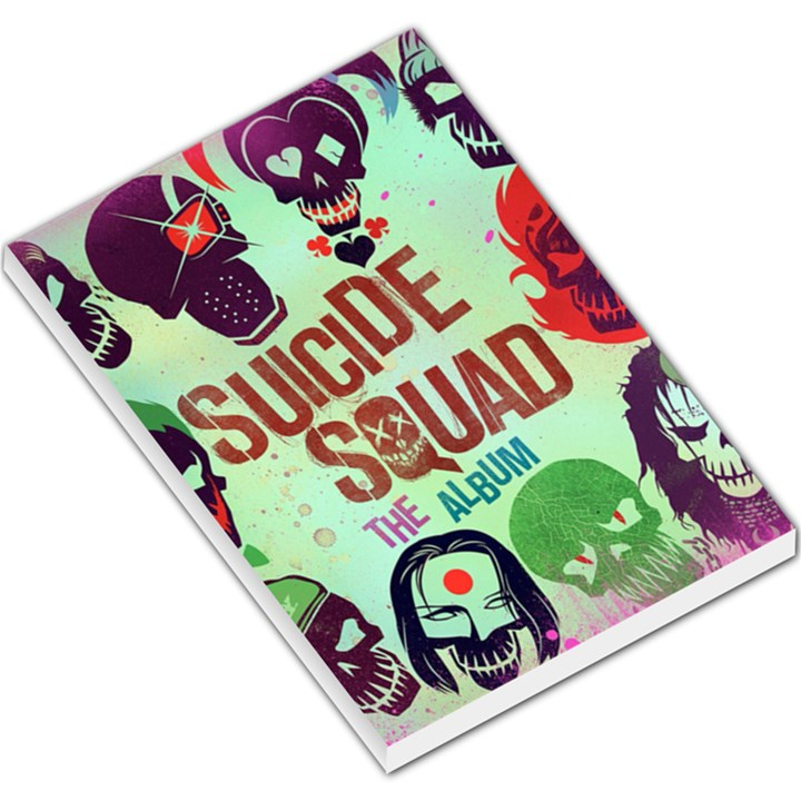 Panic! At The Disco Suicide Squad The Album Large Memo Pads