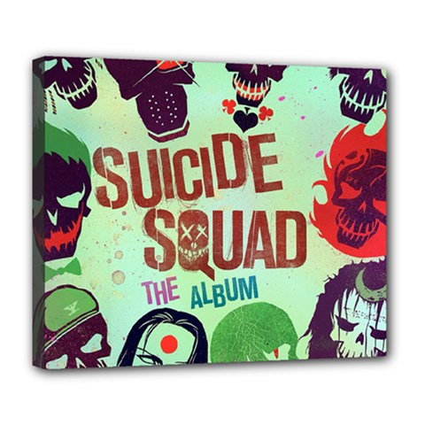 Panic! At The Disco Suicide Squad The Album Deluxe Canvas 24  x 20