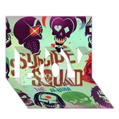 Panic! At The Disco Suicide Squad The Album Boy 3d Greeting Card (7x5)