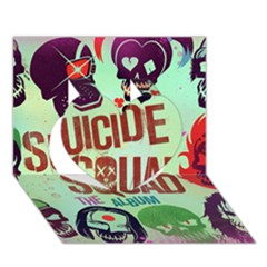 Panic! At The Disco Suicide Squad The Album Heart 3D Greeting Card (7x5)