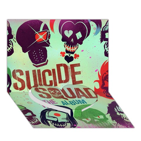 Panic! At The Disco Suicide Squad The Album Heart Bottom 3D Greeting Card (7x5)
