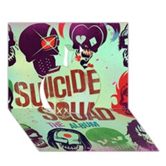Panic! At The Disco Suicide Squad The Album Apple 3d Greeting Card (7x5)