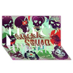 Panic! At The Disco Suicide Squad The Album Best Wish 3D Greeting Card (8x4)