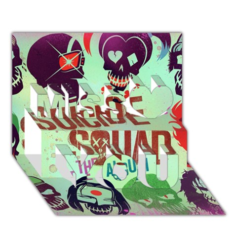 Panic! At The Disco Suicide Squad The Album Miss You 3D Greeting Card (7x5)