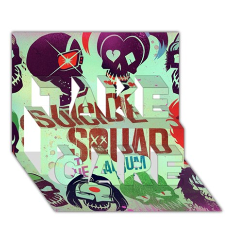 Panic! At The Disco Suicide Squad The Album TAKE CARE 3D Greeting Card (7x5)