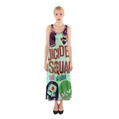 Panic! At The Disco Suicide Squad The Album Sleeveless Maxi Dress
