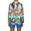 Panic! At The Disco Suicide Squad The Album Kids  Long Sleeve Swimwear View2