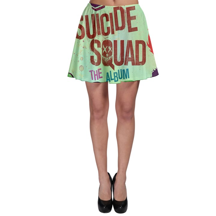 Panic! At The Disco Suicide Squad The Album Skater Skirt
