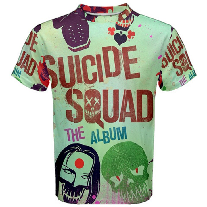 Panic! At The Disco Suicide Squad The Album Men s Cotton Tee