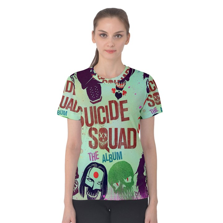 Panic! At The Disco Suicide Squad The Album Women s Cotton Tee