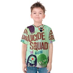 Panic! At The Disco Suicide Squad The Album Kids  Cotton Tee
