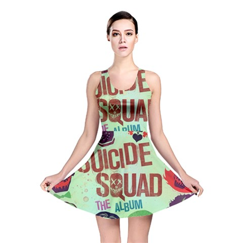 Panic! At The Disco Suicide Squad The Album Reversible Skater Dress
