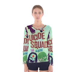 Panic! At The Disco Suicide Squad The Album Women s Long Sleeve Tee
