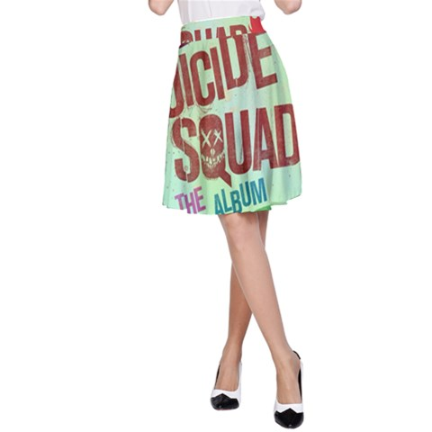 Panic! At The Disco Suicide Squad The Album A-Line Skirt