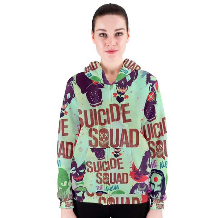 Panic! At The Disco Suicide Squad The Album Women s Zipper Hoodie