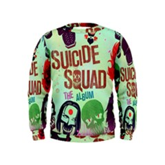 Panic! At The Disco Suicide Squad The Album Kids  Sweatshirt