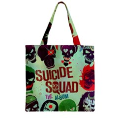 Panic! At The Disco Suicide Squad The Album Zipper Grocery Tote Bag