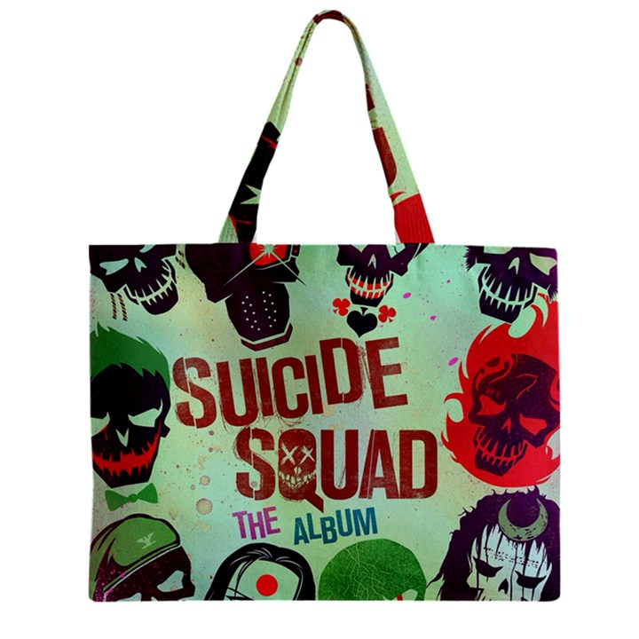 Panic! At The Disco Suicide Squad The Album Zipper Mini Tote Bag