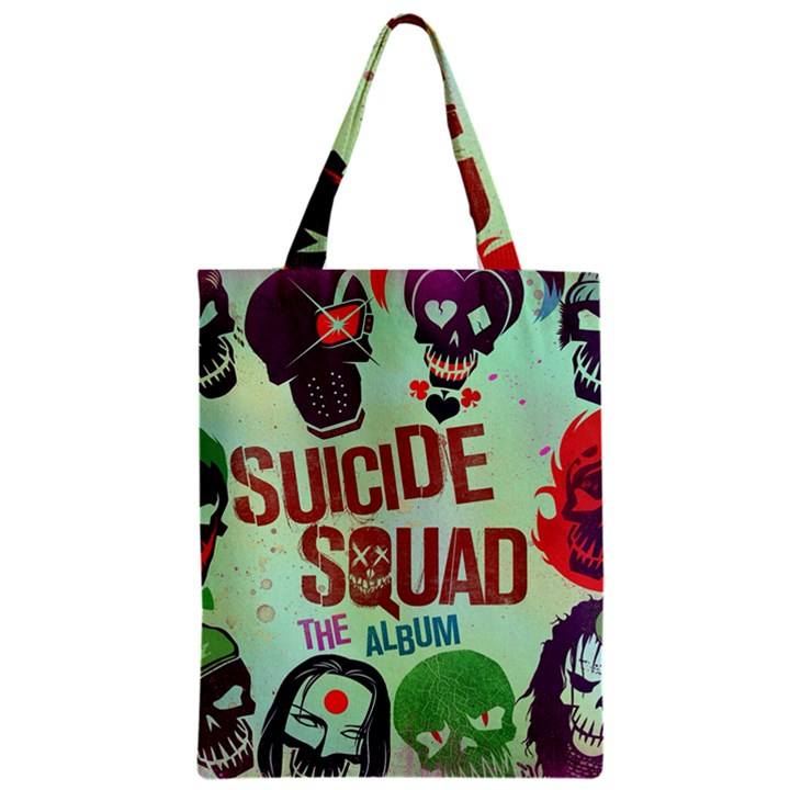 Panic! At The Disco Suicide Squad The Album Zipper Classic Tote Bag