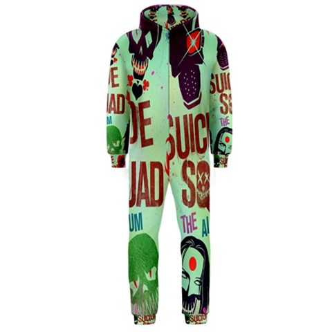 Panic! At The Disco Suicide Squad The Album Hooded Jumpsuit (Men)