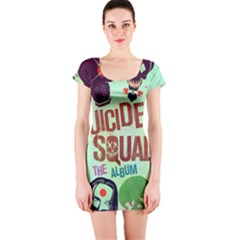 Panic! At The Disco Suicide Squad The Album Short Sleeve Bodycon Dress