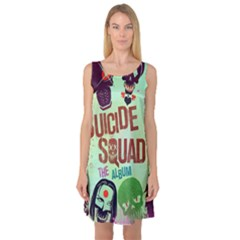 Panic! At The Disco Suicide Squad The Album Sleeveless Satin Nightdress