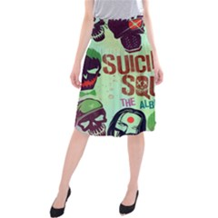 Panic! At The Disco Suicide Squad The Album Midi Beach Skirt