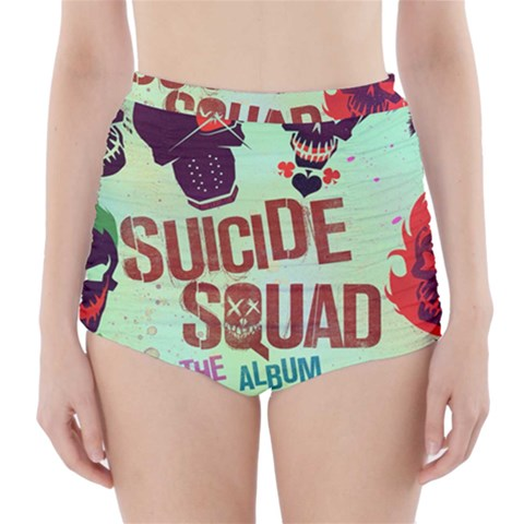 Panic! At The Disco Suicide Squad The Album High-Waisted Bikini Bottoms