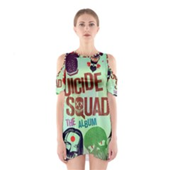 Panic! At The Disco Suicide Squad The Album Cutout Shoulder Dress