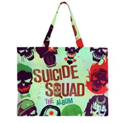 Panic! At The Disco Suicide Squad The Album Large Tote Bag