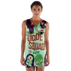 Panic! At The Disco Suicide Squad The Album Wrap Front Bodycon Dress